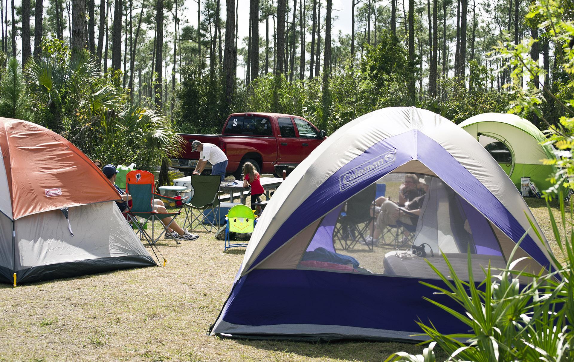 Camping en Auvergne
